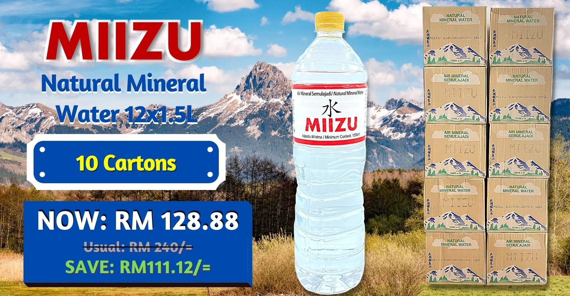 Miizu 1.5L 10c
