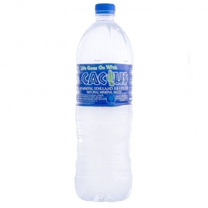 Cactus Natural Mineral Water 12x1.5L