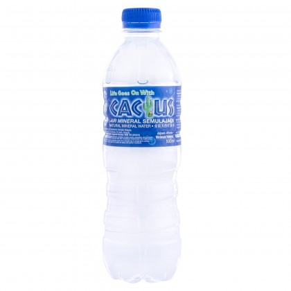 Cactus Natural Mineral Water Water 24x500ml