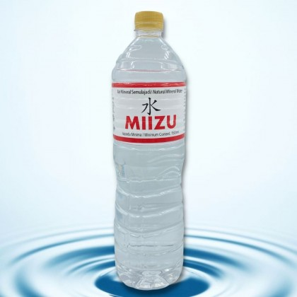 MIIZU Natural Mineral Water 12x1.5L
