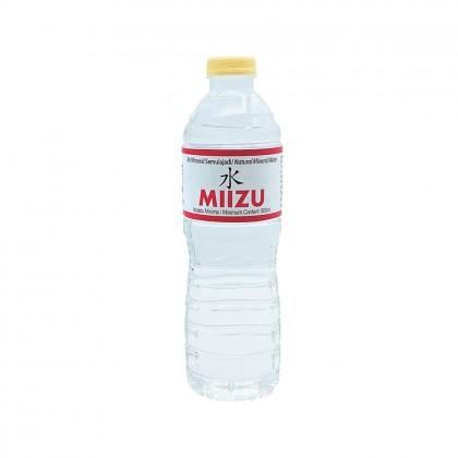 MIIZU Natural Mineral Water 24x600ml