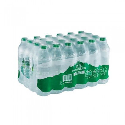 Ice Mountain Natural Mineral Water 24x600ml