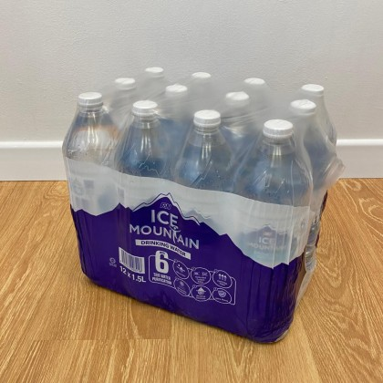 Ice Mountain Drinking Water 12x1.5L
