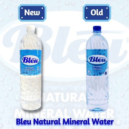Bleu Natural Mineral Water 12x1.5L - 10 Cartons Package