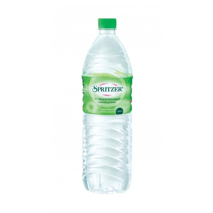 Spritzer Natural Mineral Water 12x1.5L - 10 cartons package