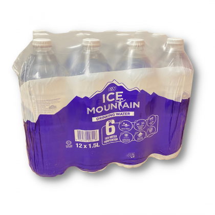 Ice Mountain Drinking Water 12x1.5L - 10 cartons package