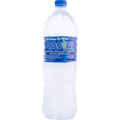 Cactus Natural Mineral Water 12x1.5L - 10 cartons package